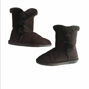 BearPaw Boots size 8 Brown